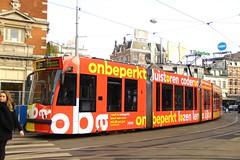 GVB Combino tram 2085, Lijn 7 | Leidseplein