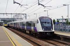 Crossrail/TfL Rail 345009 At Southend Airport