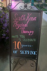 South Kona Physical Therapy 10th Anniversary