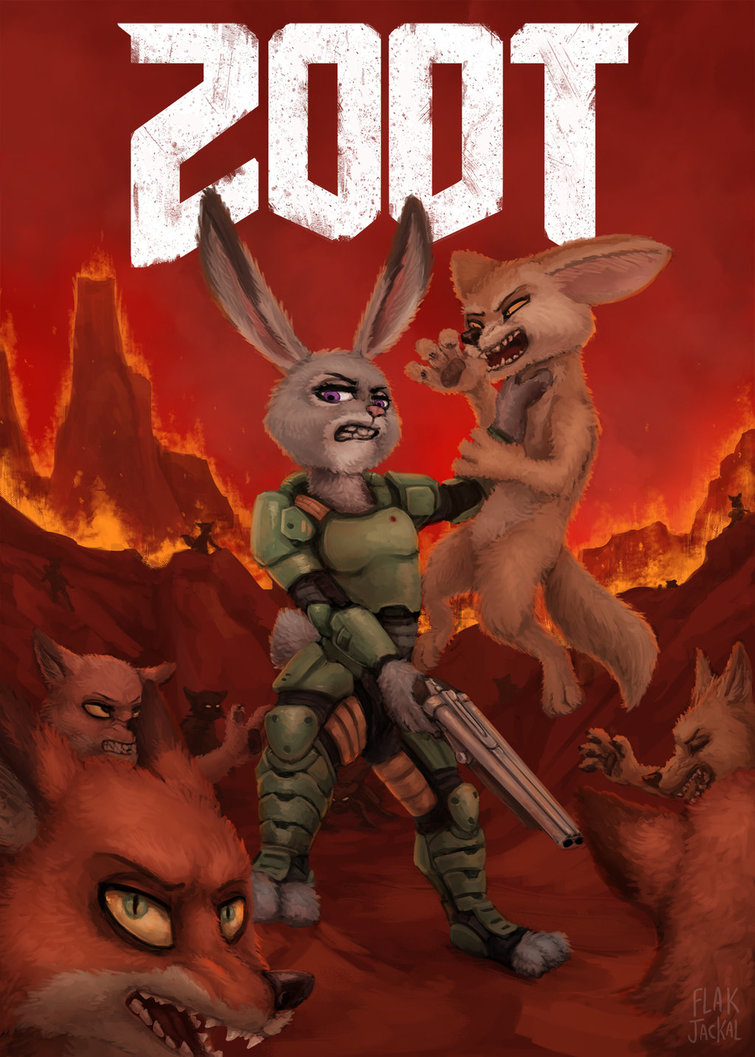 Art of the Day #117 – Zootopia Gaming Edition