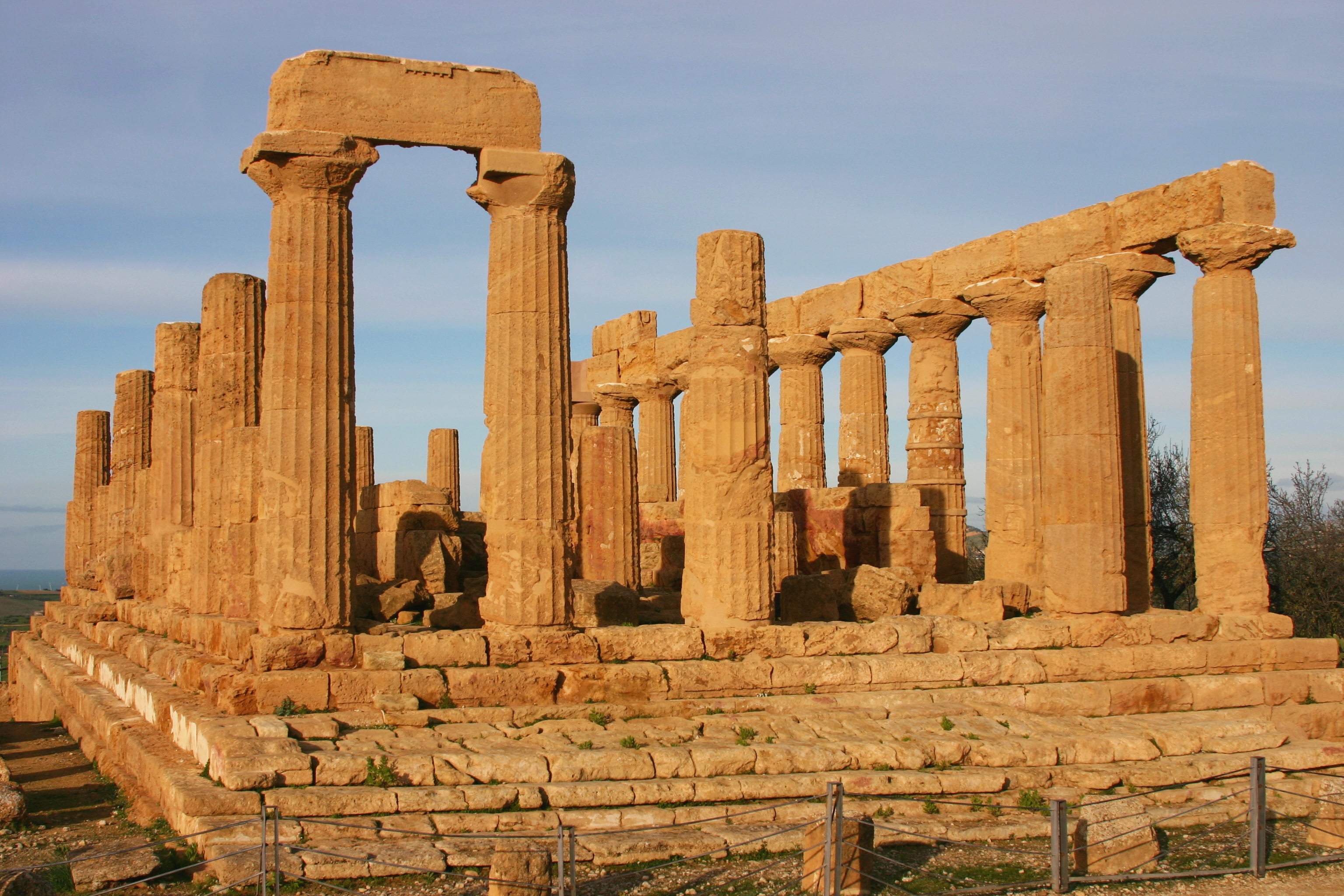 Temple of Hera at Agrigento, Italy