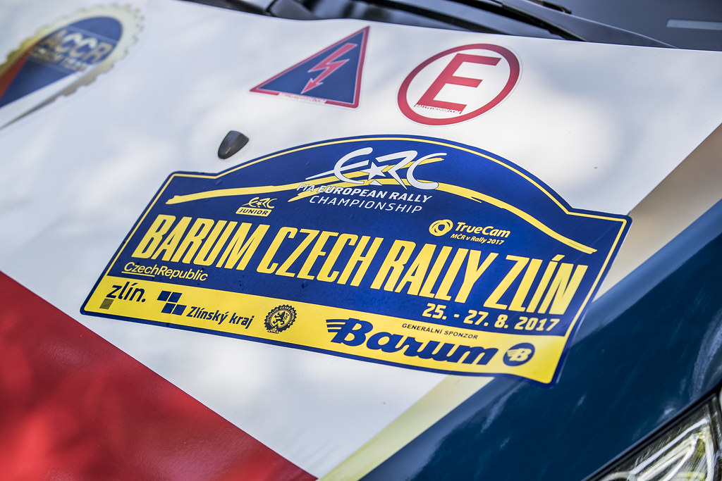 Illustration during the 2017 European Rally Championship ERC Barum rally,  from August 25 to 27, at Zlin, Czech Republic - Photo Gregory Lenormand / DPPI
