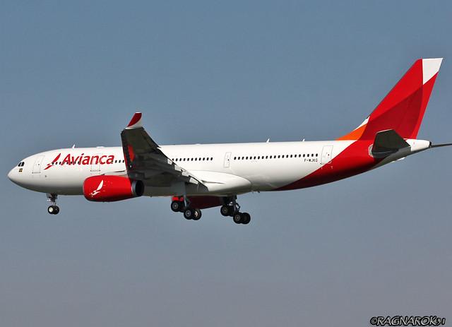 A330-200 AviancaBrasil F-WJKG-005 cn1657, Canon EOS 60D, Sigma 50-500mm f/4-6.3 APO HSM EX