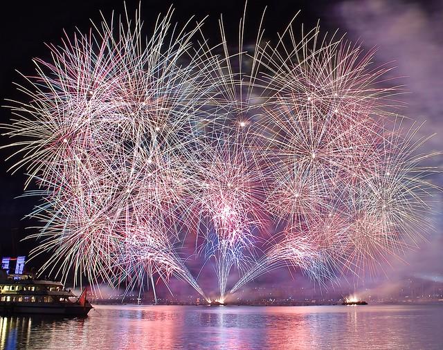 Geneva fireworks festival 2017