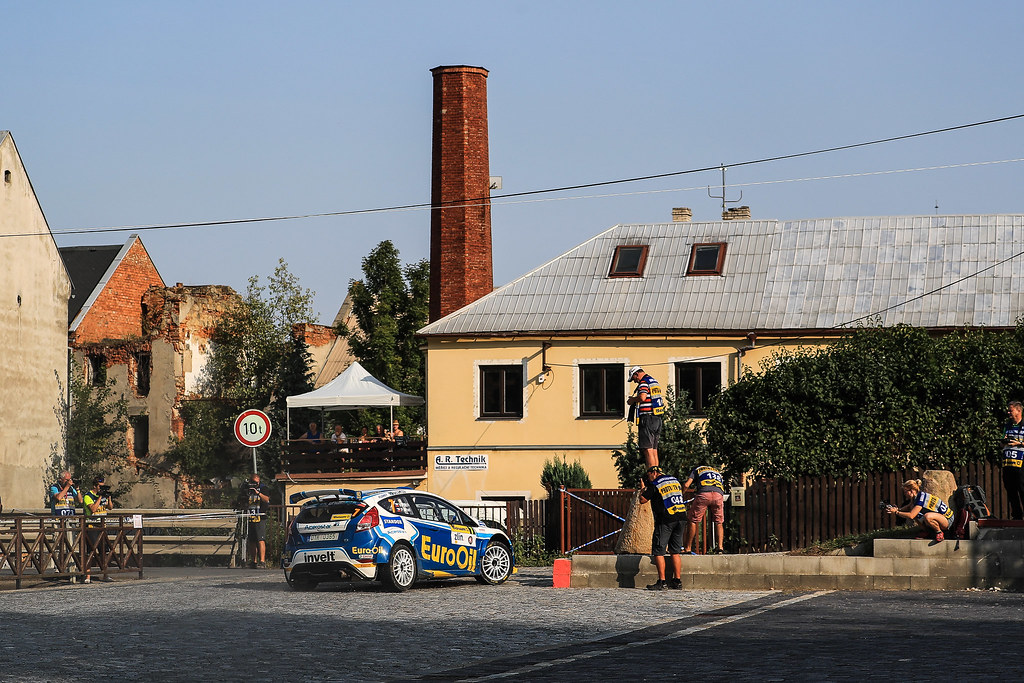 07 PECH Vaclav (CZE) UHEL Petr (CZE) Ford Fiesta R5 action during the 2017 European Rally Championship ERC Barum rally,  from August 25 to 27, at Zlin, Czech Republic - Photo Jorge Cunha / DPPI