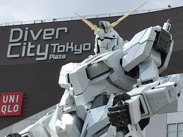 Gundam Unicorn life Size