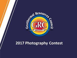 GRC 2017 - 38th Amateur Geothermal Photo Contest