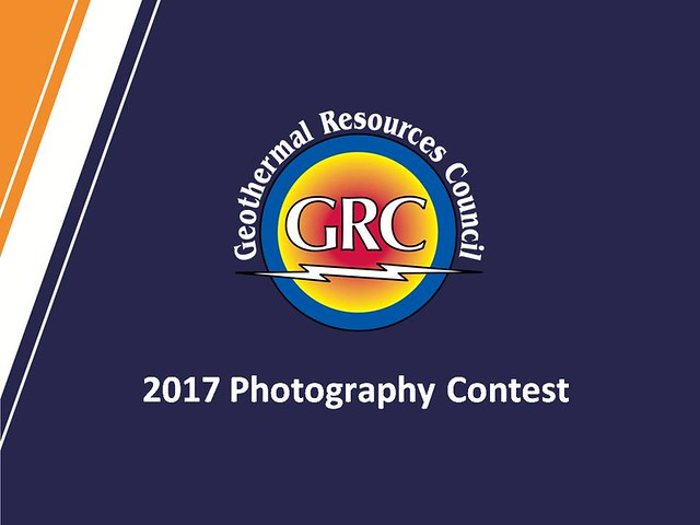 GRC 2017 - 38th Amateur Geothermal Photo Contest