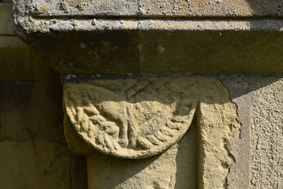 galloping horse (Norman south doorway)