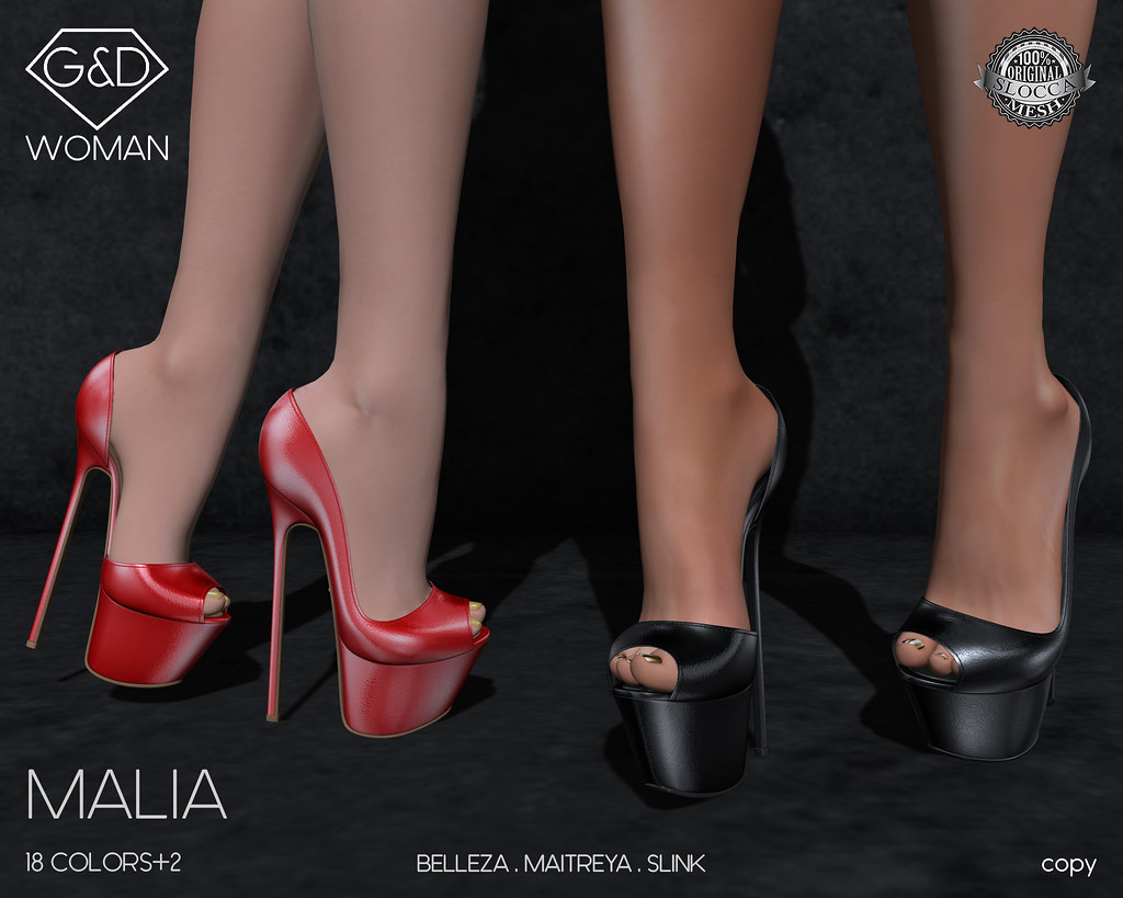 G&D Shoes Malia 01 adv - SecondLifeHub.com
