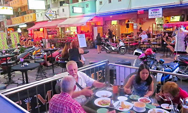 Soi LK Metro Pattaya Party Street