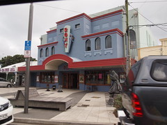 Roxy Theater where LOTR and Hobbit movies premiere in Wellington.