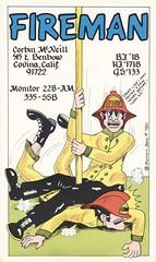 Runnin Bare #0780: Fireman - Covina, California