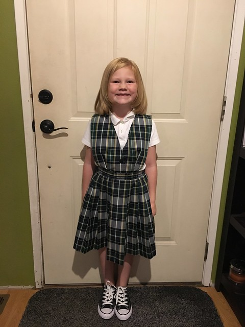 Hadley First Day of 1st Grade