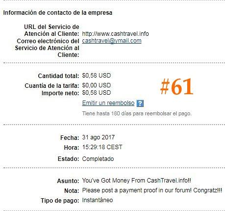 61º Pago de CashTravel - 0,58$ (horas) 36917575232_cfa53c6a67_b