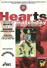 Heart of Midlothian v Rangers 19931103
