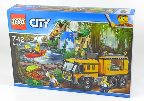 LEGO City Jungle 60160 Jungle Mobile Lab 01