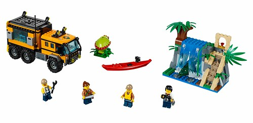 LEGO City Jungle 60160 Jungle Mobile Lab 00