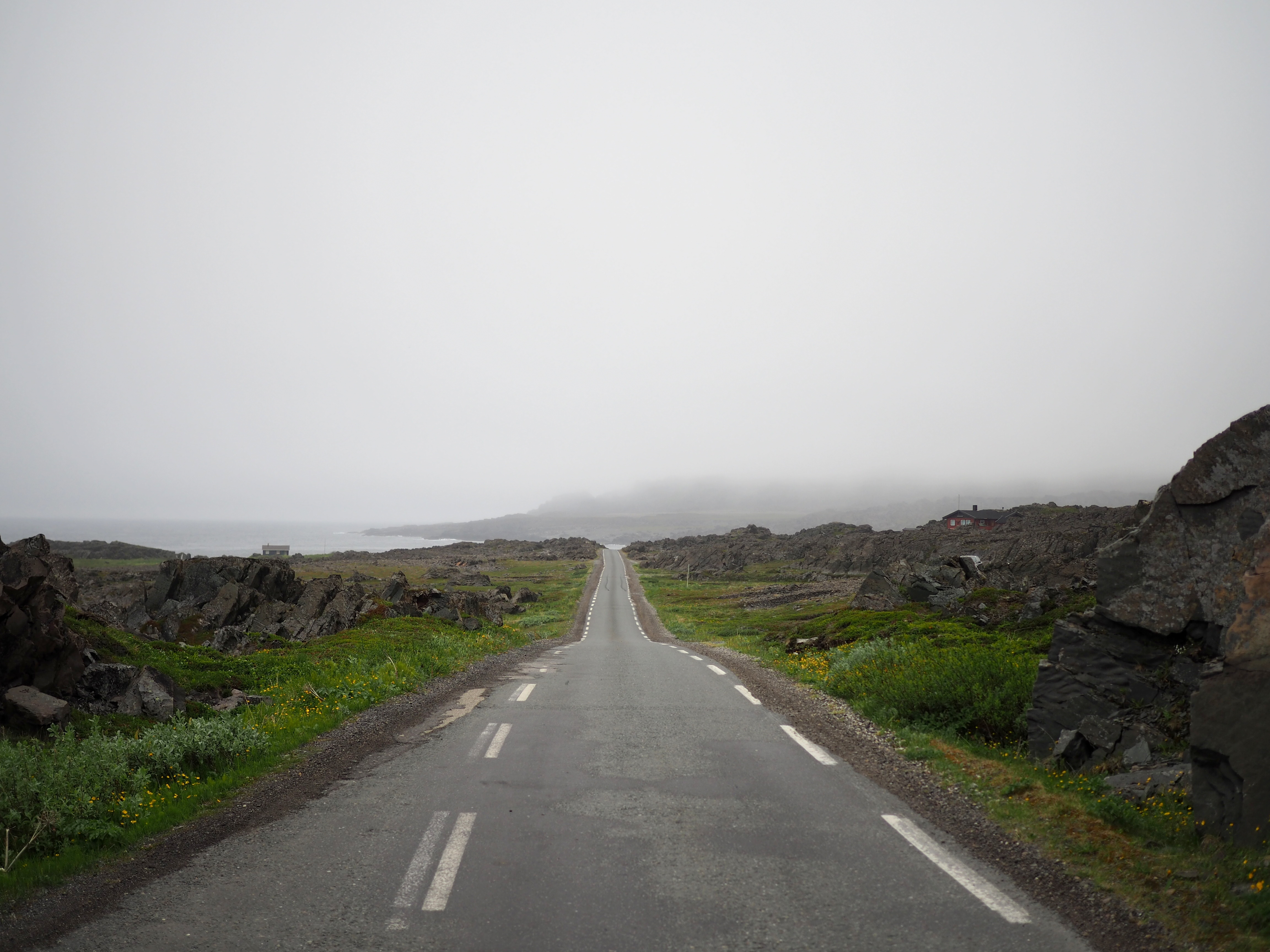 hamningberg roadtrip norja