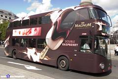 Wrightbus NRM NBFL - LTZ 1420 - LT420 - Magnum Double Raspberry - Dulwich LIbrary 12 - Go Ahead London - London 2017 - Steven Gray - IMG_8639