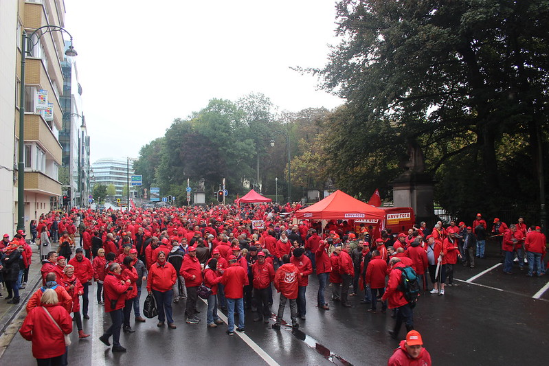 15 septembre 2017 - Actions pensions FGTB (CNT - Bruxelles)