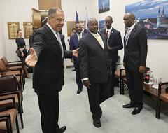 С.В.Лавров и Й.Мусевени | Sergey Lavrov & Yoweri Museveni