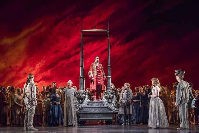 Die Zauberflöte, The Royal Opera Season 2017/18 © ROH 2017. Photograph by Tristram Kenton.