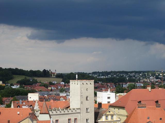 Kommt der Regen?