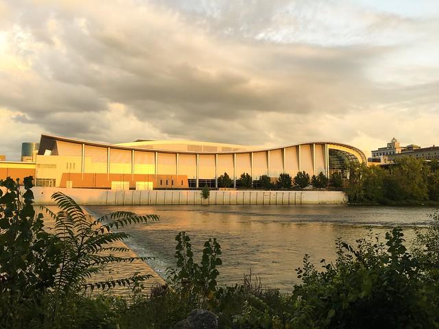 Along the banks of the Grand River - #grandrapidsmi #artprize