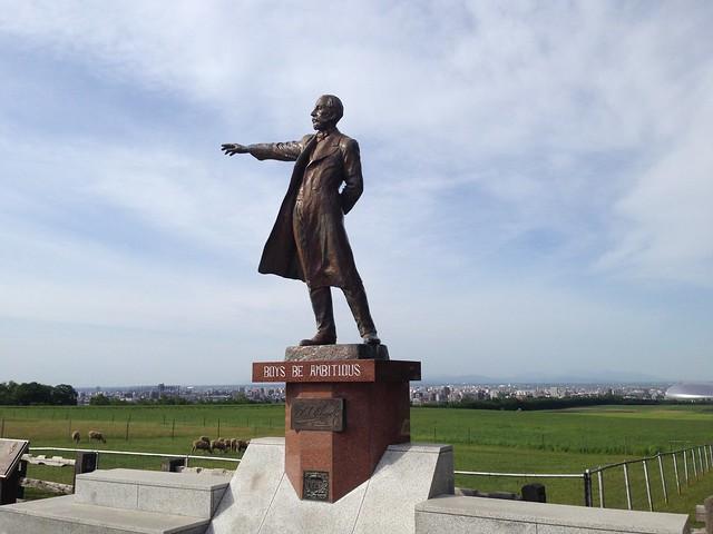 hokkaido-sapporo-hitsujigaoka-observation-hill-clark-statue-02