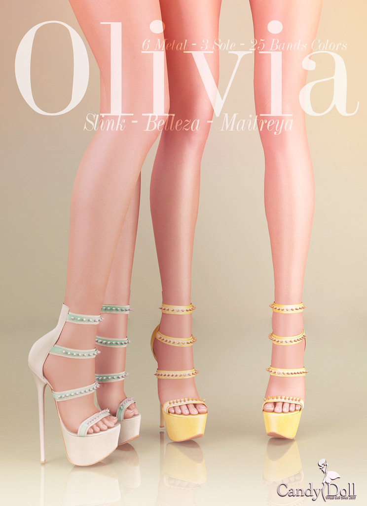 Olivia Shoes Add - TeleportHub.com Live!