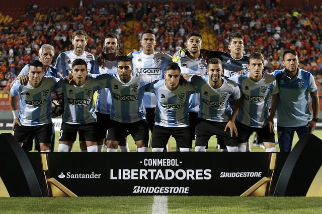 Union Espanola vs Atletico Cerro, Copa Libertadores 2017.