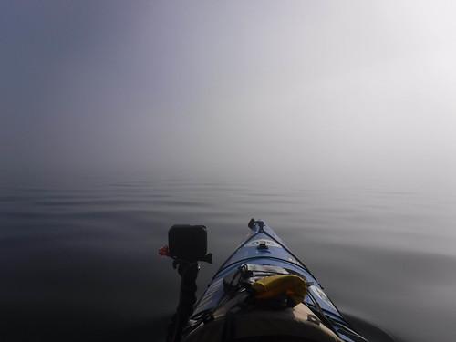 Samish Island Paddling in Fog-43