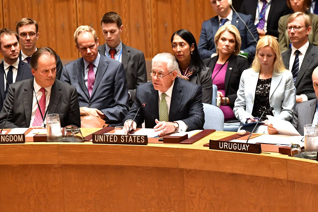 Secretary Tillerson Participates in the UN Security Council Session on Nuclear Non-Proliferation in New York City
