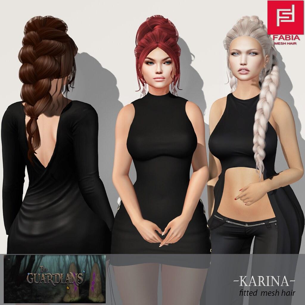 -FABIA- Mesh Hair   <Karina> - TeleportHub.com Live!