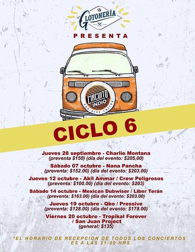 CICLO 6 Circuito Indio Querétaro