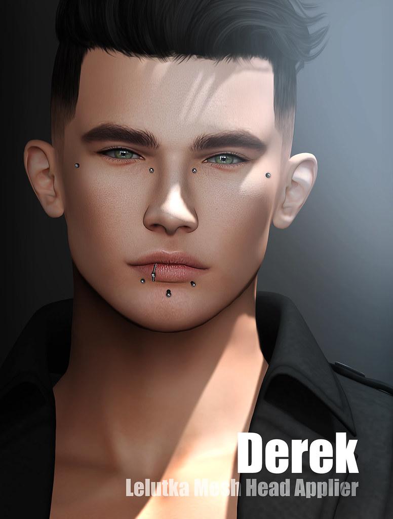 Tableau Vivant – Derek Applier for LELUTKA Bento Head – coming at UBER