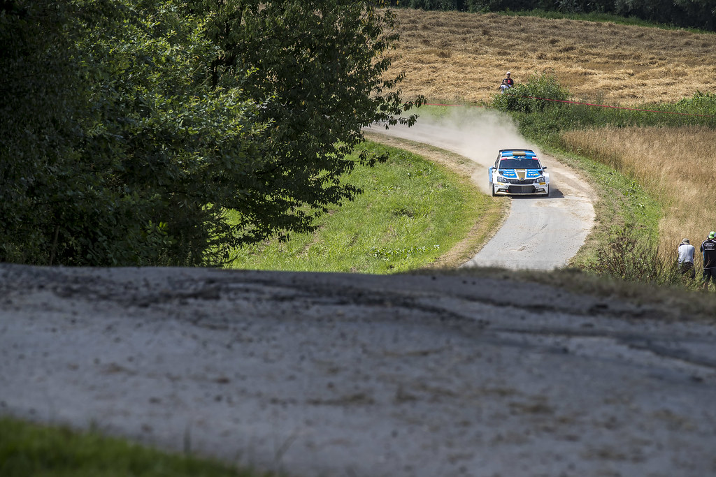 20 David BOTKA (HUN)  FERENCZ Ramon (HUN) Skoda Fabia R5 action during the 2017 European Rally Championship Rally Rzeszowski in Poland from August 4 to 6 - Photo Gregory Lenormand / DPPI