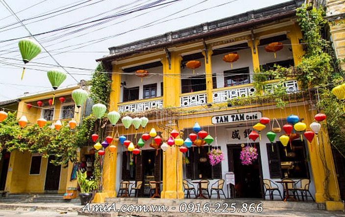 Hinh anh tranh phong canh dep Viet Nam pho co Hoi An