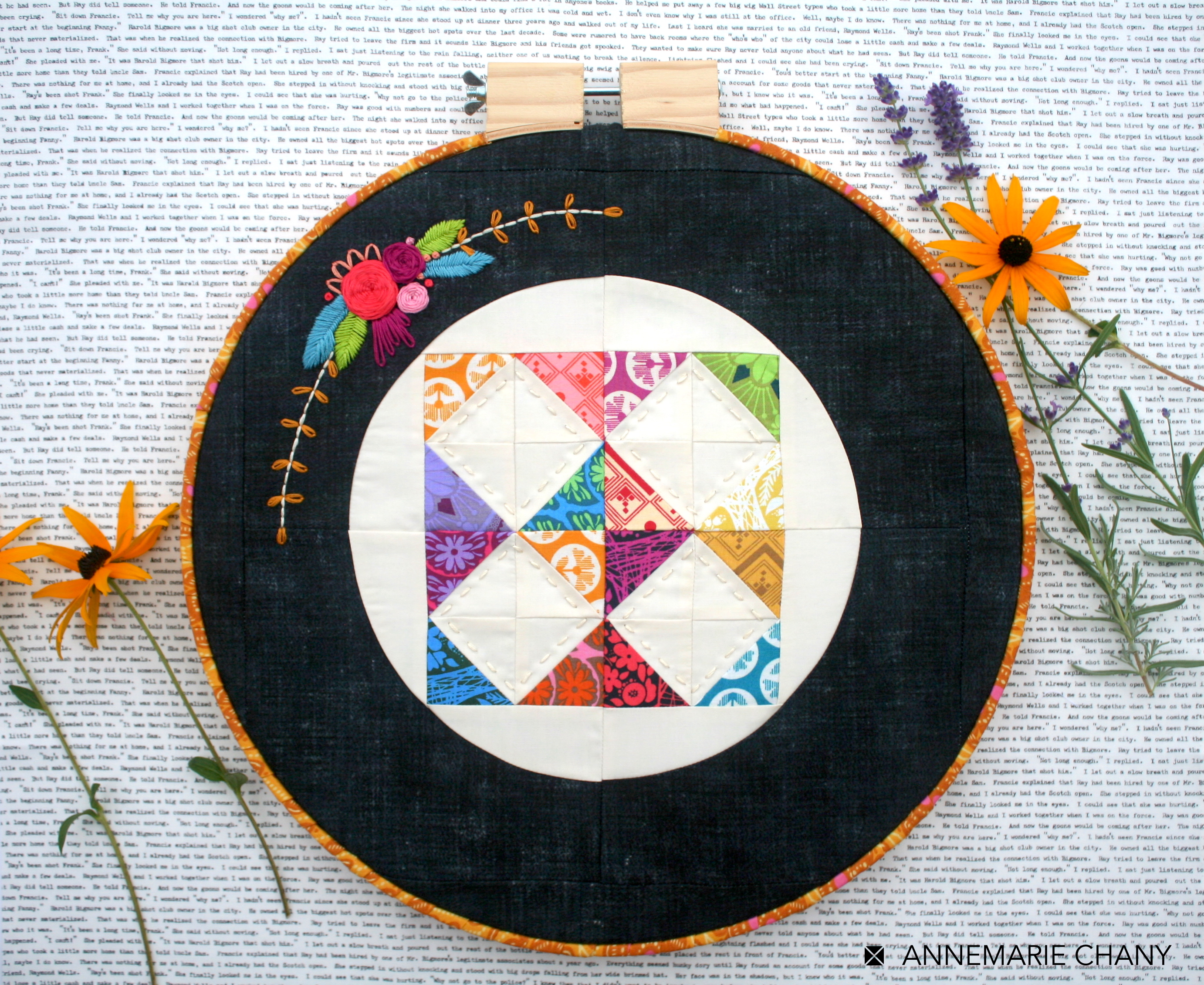 HOOP QUILT Finish