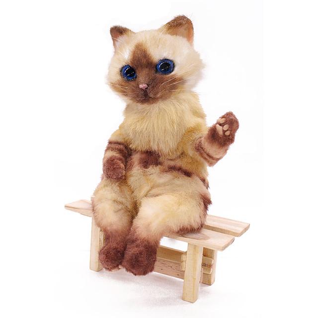 讓人融化的超可愛造型!《魔物獵人》艾露貓 高級布偶(プレミアムドール アイルー)【e-CAPCOM限定】