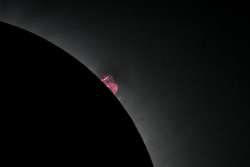 Prominence Closeup