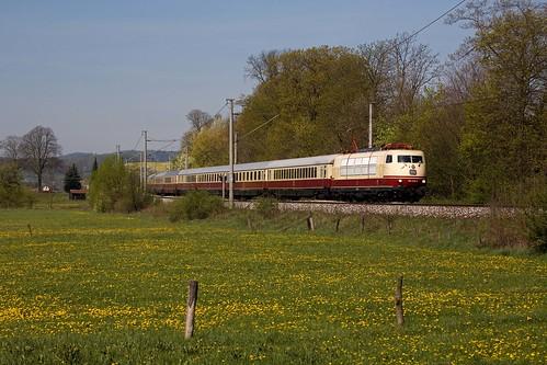 br103 railroad deutsche bahn tee herleshausen