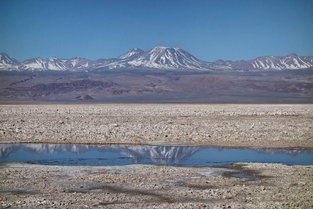 San Pedro Atacama - Piedras Rojas - Laguna Chaxa - Miroir