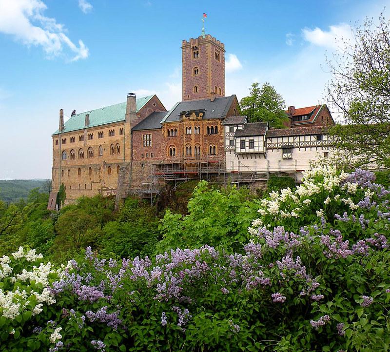Wartburg Castle, Thuringia, Germany. Credit Vitold Muratov