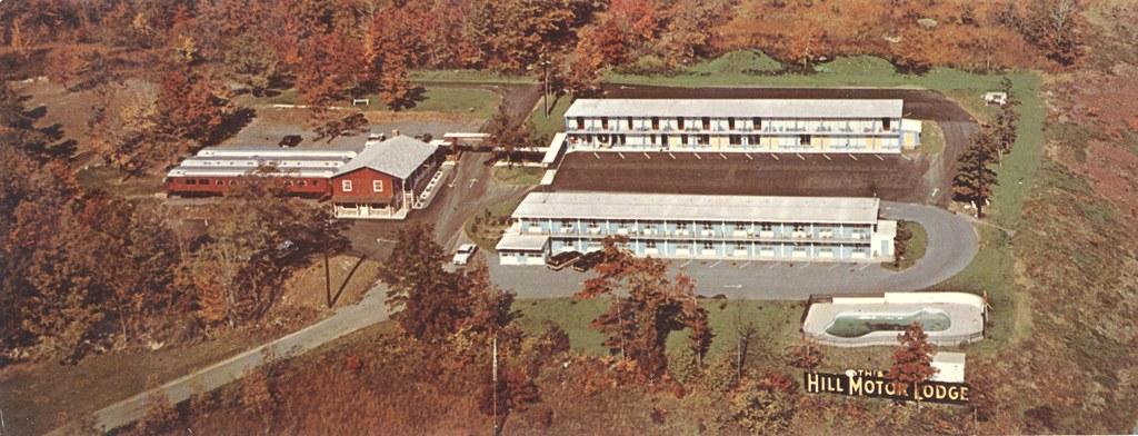 Hill Motor Lodge & Train Coach Restaurant - Tannersville, Pennsylvania