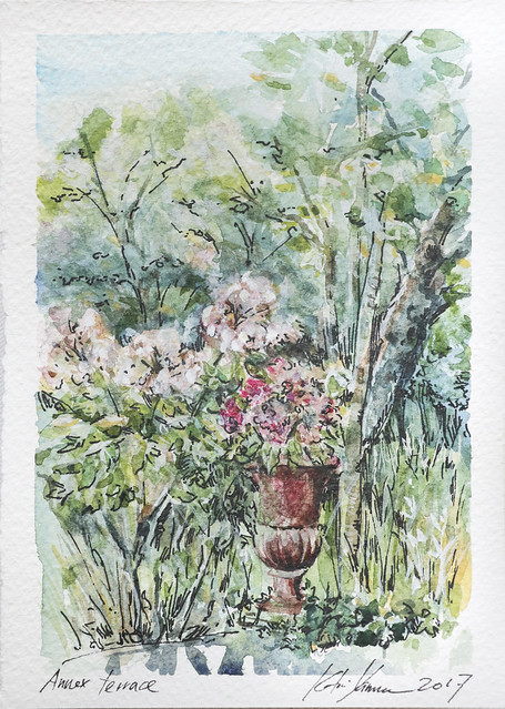 Watercolour painting in annex