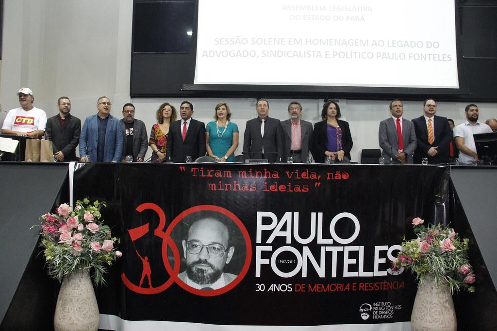 Alepa realiza sessão solene de 30 anos sem Paulo Fonteles