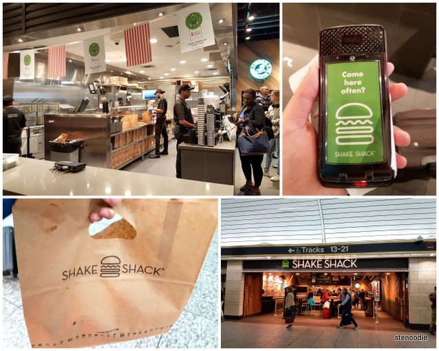 Shake Shack at Penn Station