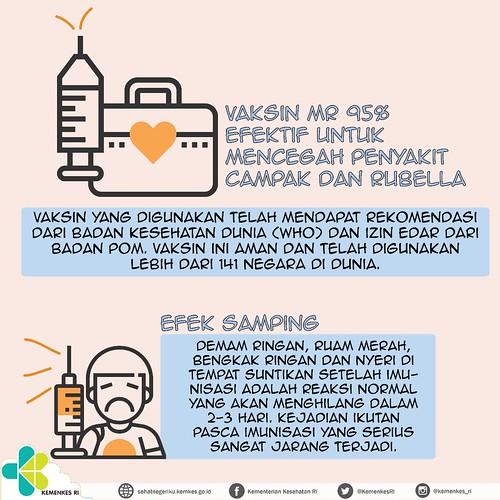 efek samping vaksin MR